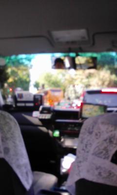 エスパルスのバスと遭遇!
